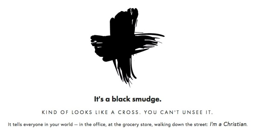 black smudge