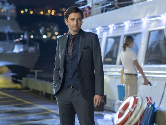Kilgrave on the docks for his final showdown with Jessica.