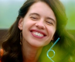 Kalki Koechlin, star of Margarita with a Straw. Courtesy of Wolfe Video.