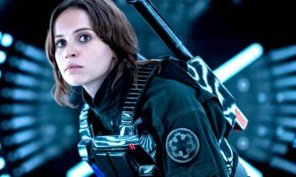Shades of Gray: Felicity Jones as Jyn Erso in the morally ambiguous Rogue One.
