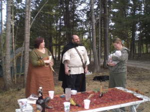 """Baby naming ceremony, Heathen Freehold Society of British Columbia"" by Bygul - Own work. Licensed under CC BY-SA 3.0 via Wikimedia Commons - http://commons.wikimedia.org/wiki/File:Baby_naming_ceremony,_Heathen_Freehold_Society_of_British_Columbia.jpg#/media/File:Baby_naming_ceremony,_Heathen_Freehold_Society_of_British_Columbia.jpg"