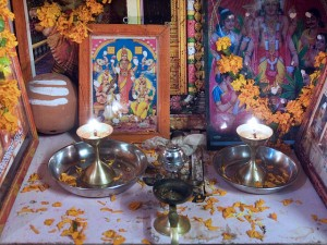 """""""India - Family altar - 7090"""" by © Jorge Royan/http://www.royan.com.ar. Licensed under CC BY-SA 3.0 via Commons - https://commons.wikimedia.org/wiki/File:India_-_Family_altar_-_7090.jpg#/media/File:India_-_Family_altar_-_7090.jpg"""