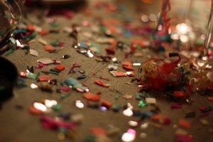 Confetti by Andreas Graulund