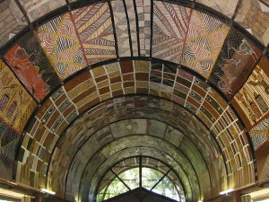 Tiwi Island art gallery ceiling - By Satrina Brandt - Own work, CC BY-SA 3.0.