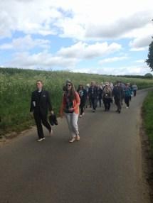 England Walking Barefoot