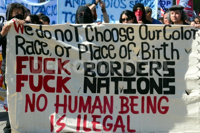 Image result for anarchist no borders