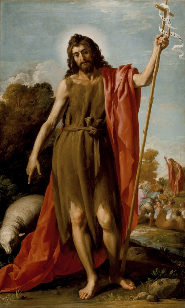 St. John The Baptist In The Wilderness, by José Leonardo (Spain, 1601-before 1653) LACMA Collection, Public Domain