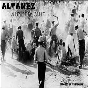Altanez - La Ley de La Calle cover