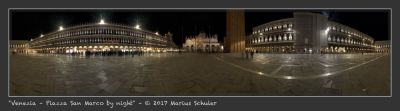 Venezia – Piazza San Marco by night