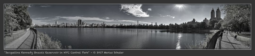 Jacqueline Kennedy Onassis Reservoir in NYC Central Park