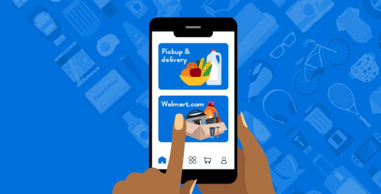cómo comprar en Walmart por Internet y recoger en tienda