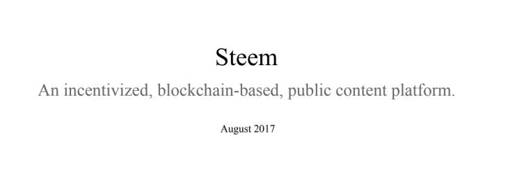 blockchain de steemit