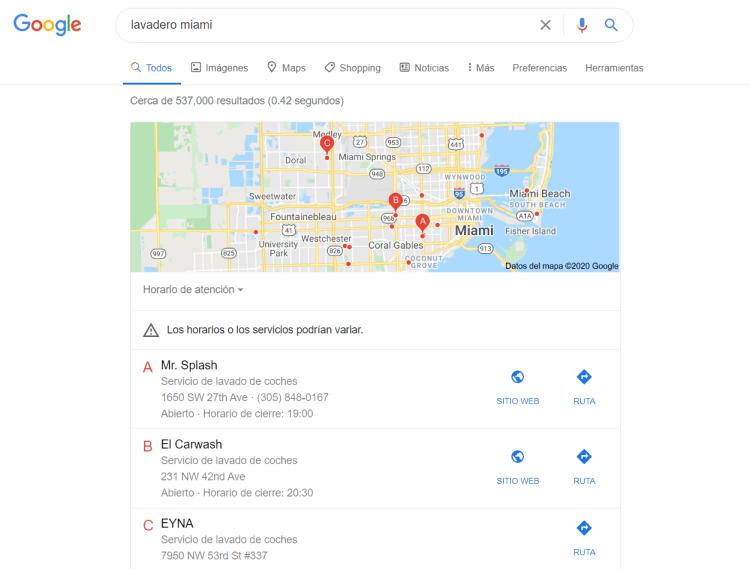 servicio de SEO local