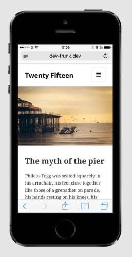 Ako bude vyzerať téma Twenty Fifteen?
