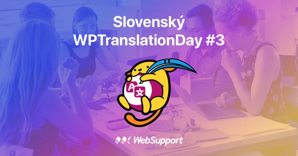 Slovenský WPTranslationDay #3