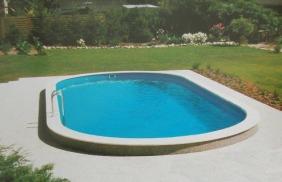 Støbt pool Sjælland