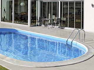 Oval pool eksempel