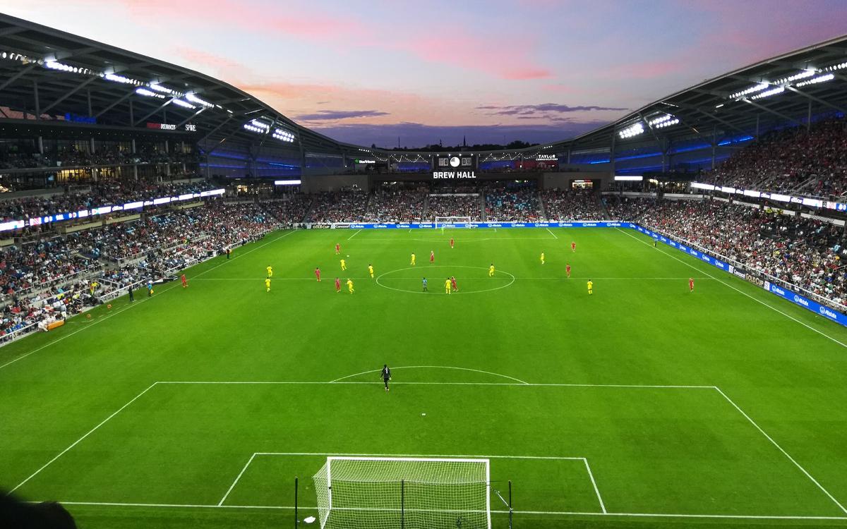 Allianza Field, the new home of Minnesota United FC