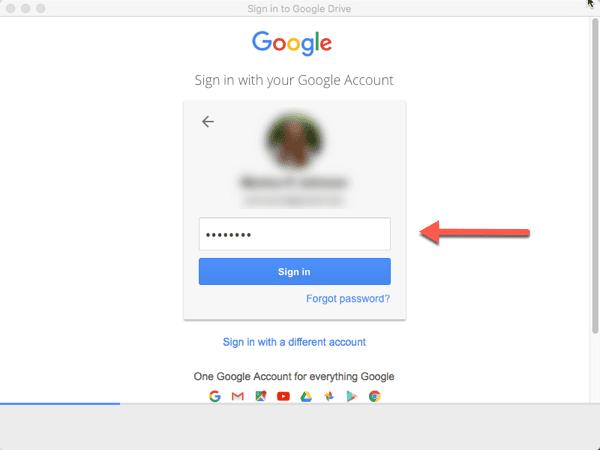 Install Google Drive on Mac Desktop – Information Technology