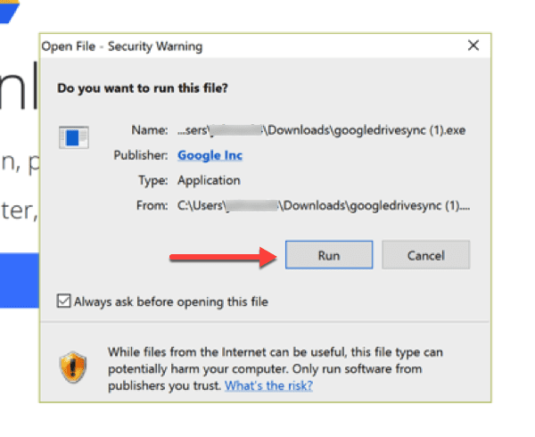 Install Google Drive on Windows 10 Desktop – Information Technology