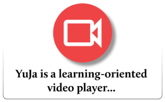 YuJa is a learning-oriented video player