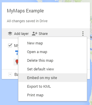 Google My Maps – Information Technology on