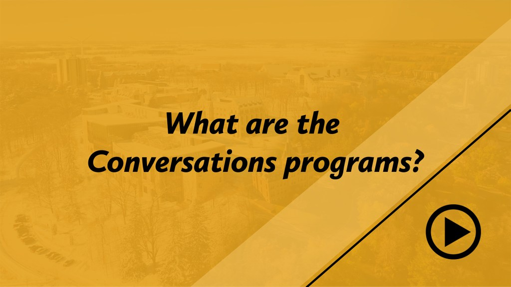 What are the Conversation Programs?