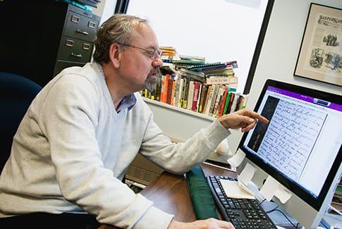 St. Olaf College Professor of History Michael Fitzgerald