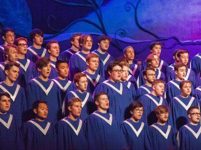 Viking Chorus at the 2016 St. Olaf Christmas Festival.