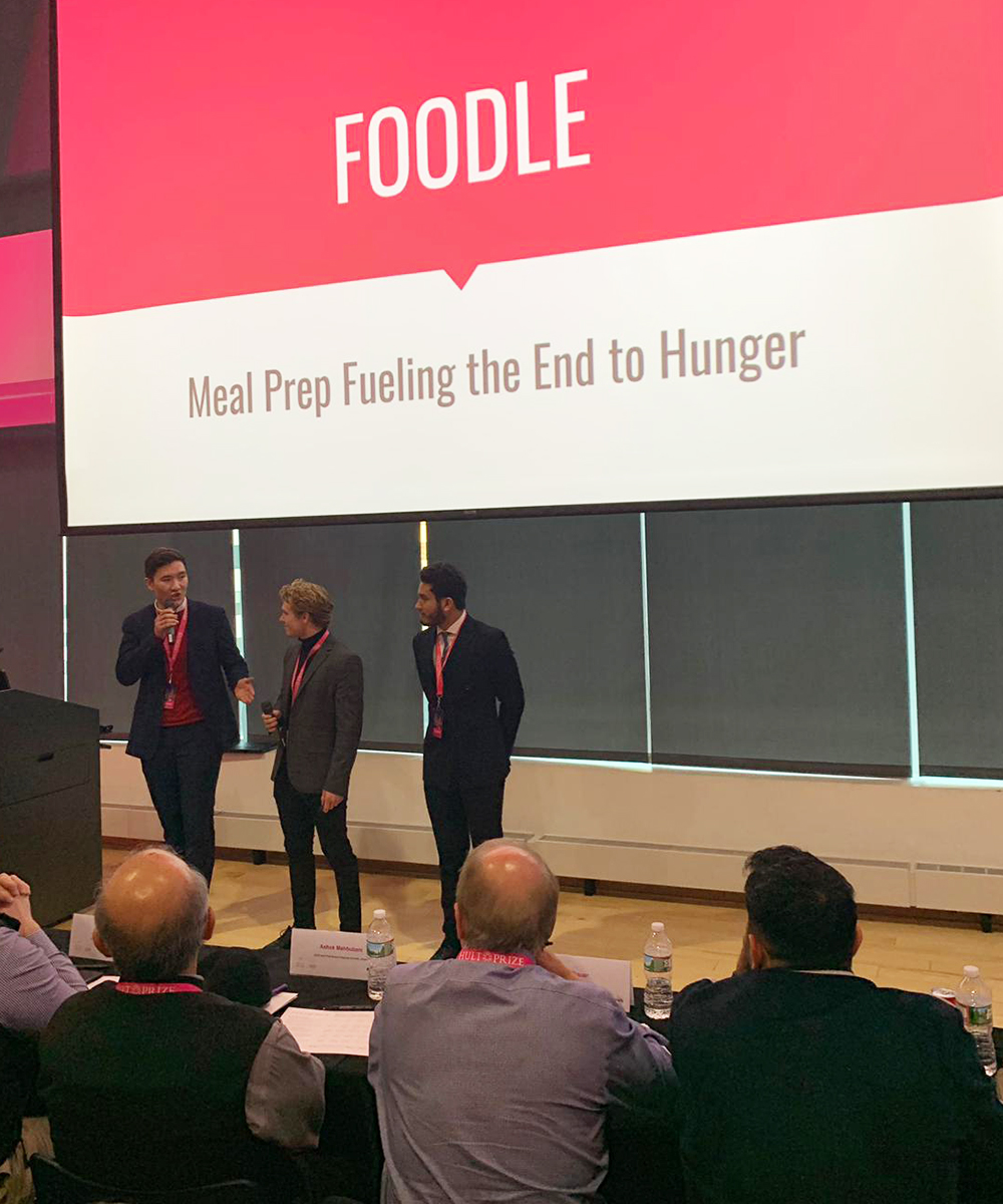 St  Olaf team a finalist in Hult Prize challenge – St  Olaf