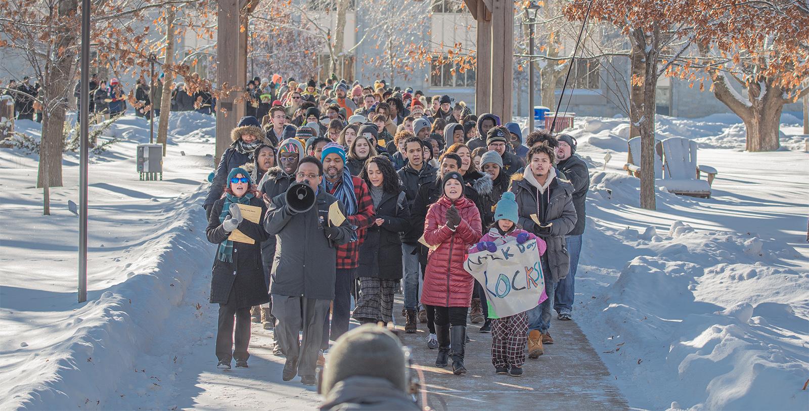 Unity March MLK Day 2020 Windchime
