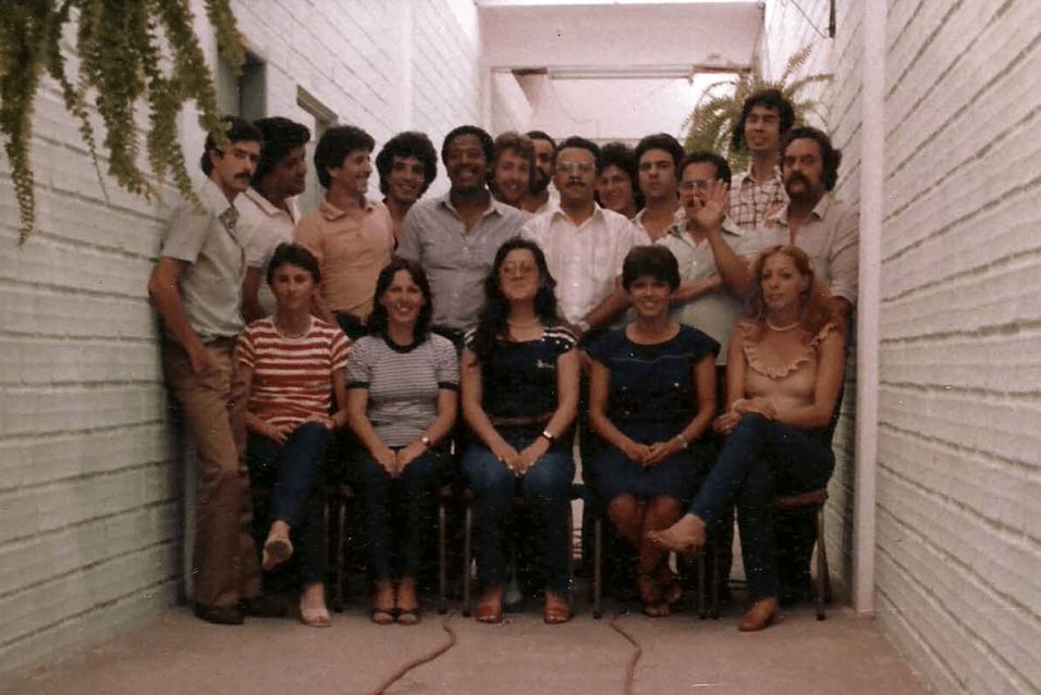 Equipe CPD - Fevereiro/1982