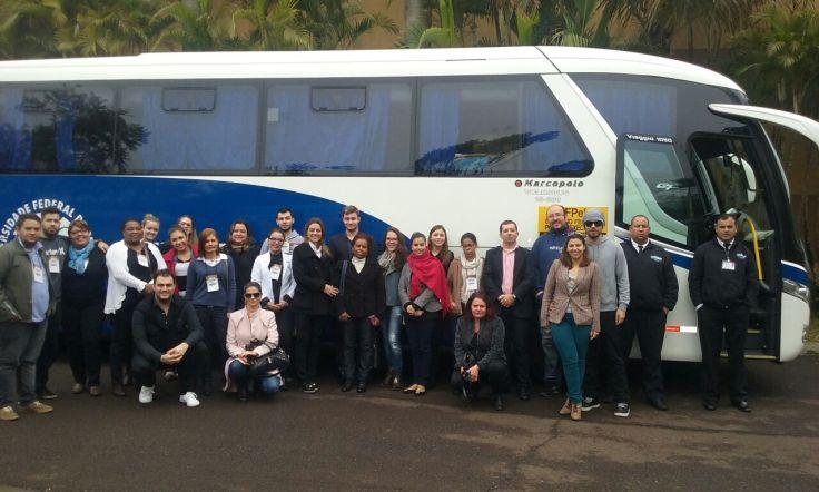 Viagem do Curso de Hotelaria (Centro de Integração do Mercosul) para participação de Evento em Foz do Iguaçu/PR.