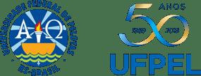 Logo UFPEL | 50 ANOS
