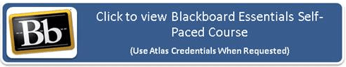 Login button for Blackboard Essentials Self-Paced Course