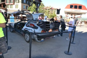 INSTCON back to the future car