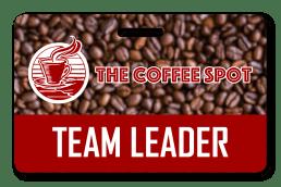 Coffee Shop Employee Badge