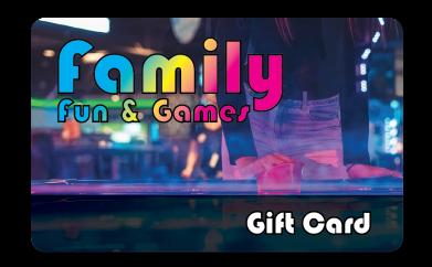 Family Arcade Gift Card