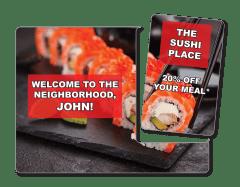 Restaurant VersaMailer Direct Mailer