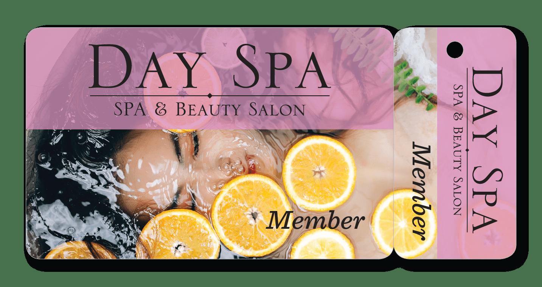 Spa and Salon Membership Combo Card