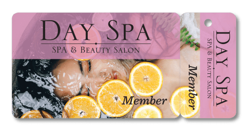 membership combo card for spa and salon