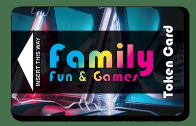 Family Arcade Token Card