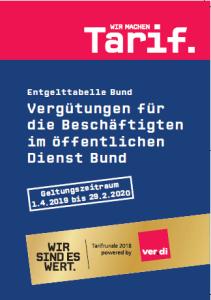 Logo Entgelttabelle