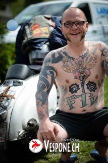 Davos Tattoo von Vespone