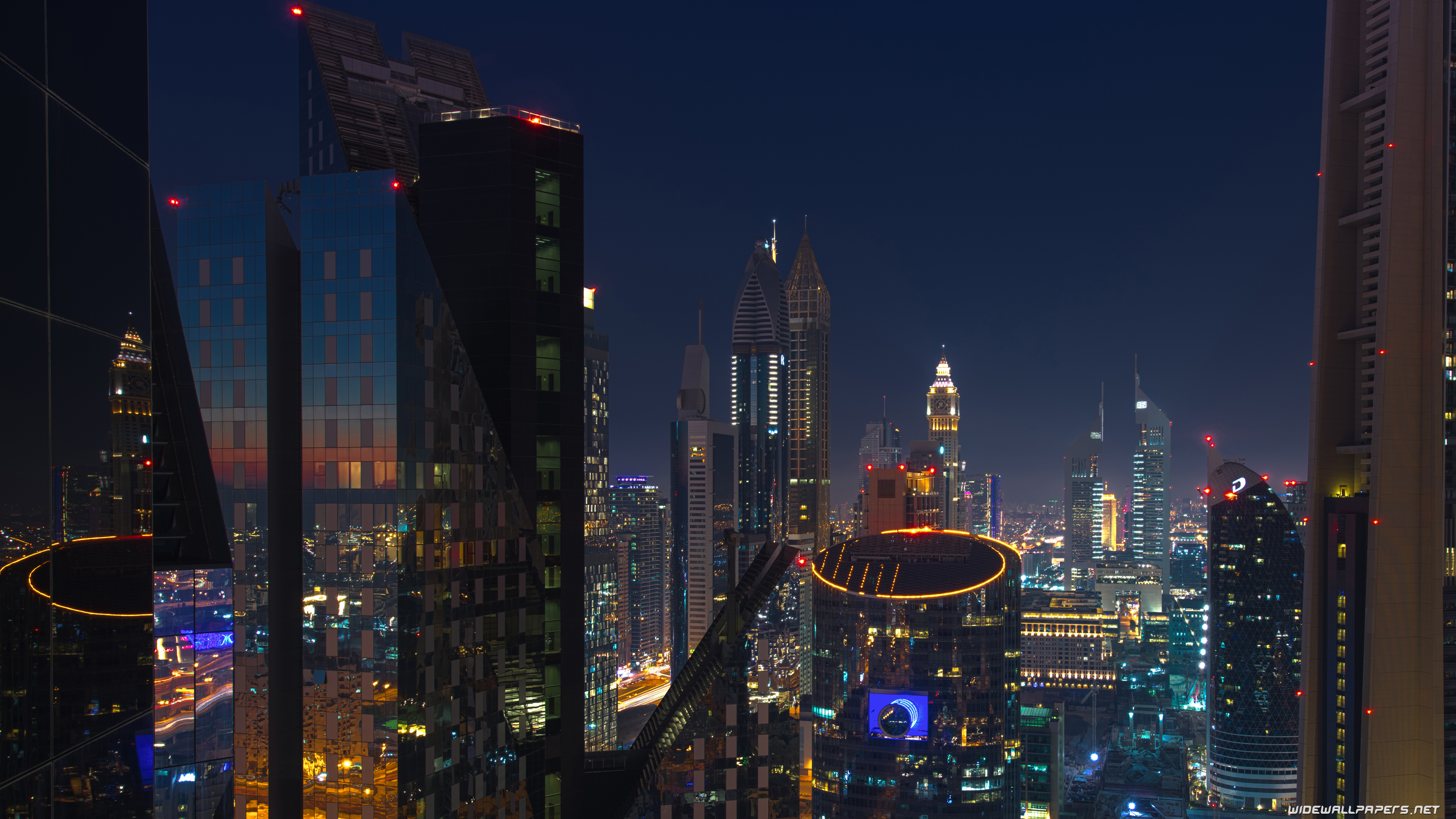 Dubai City Desktop Wallpapers 4k Ultra Hd