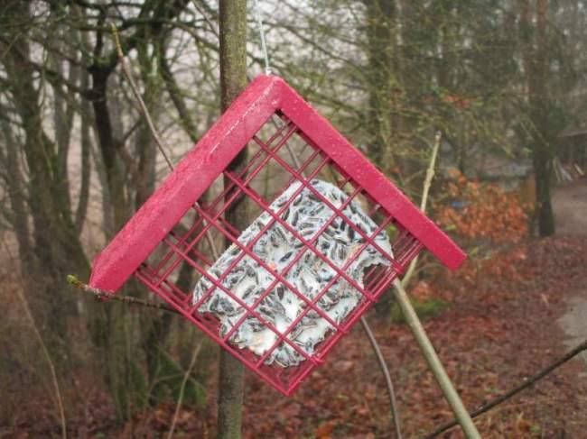 Wieder befüllbarer Halter für Energieblöcke, © Anke Dornbach