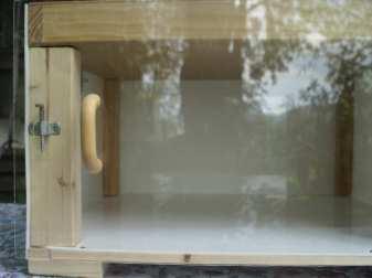 Verschließbare Fronttür mit Duchblick, © Anke Dornbach