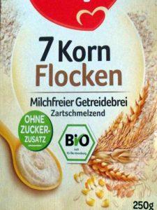 Milchfreie Siebenkornflocken, © Anke Dornbach