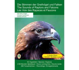 Cover der CD 'Die Stimmen der Greifvögel und Falken'