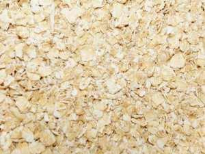 Haferflocken und andere Getreideflocken eignen sich zur Fütterung von Wildvögeln, © Gaby Schulemann-Maier